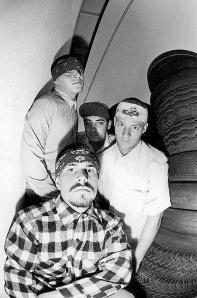 Foto hitórica. Nelson, Muir, Mayorga e Smith