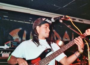 Trujillo em show com o Suicidal