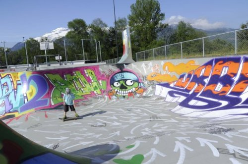 Agora concluído. Possessed to Skate!